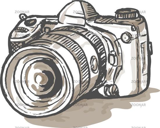 Clipart fotokamera clipart black and white library Fotokamera clipart 5 » Clipart Station clipart black and white library