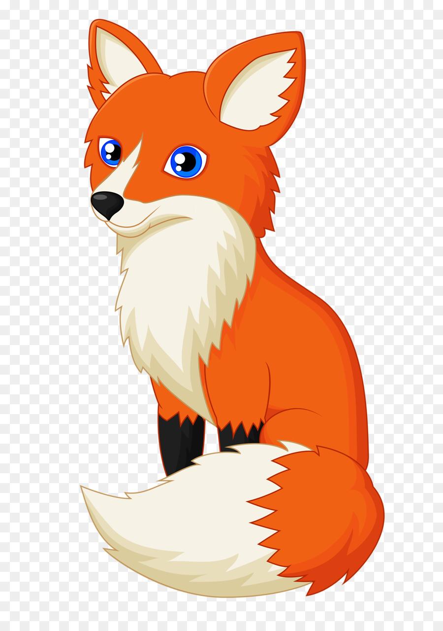 Clipart fox pictures clip black and white download Fox Cartoon clipart - Fox, Illustration, Orange, transparent clip art clip black and white download