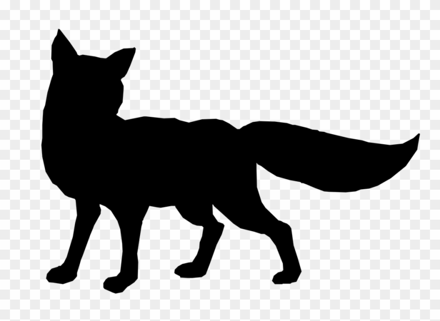 Clipart fox silhouette picture stock Cheetah Silhouette Cliparts 18, Buy Clip Art - Fox Silhouette Png ... picture stock
