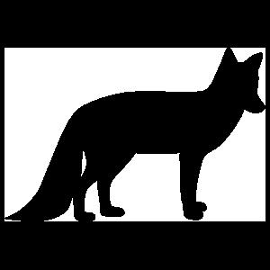 Clipart fox silhouette clip free download Fox silhouette clipart images gallery for free download | MyReal ... clip free download