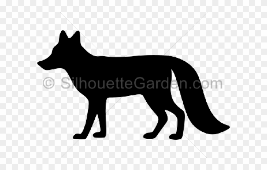 Clipart fox silhouette clip library Fox Clipart Silhouette - Copyright - Png Download (#445112) - PinClipart clip library
