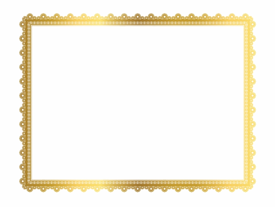 Clipart frame images vector stock Gold Border Frame Png Clipart - Frame Border Golden Png Free PNG ... vector stock