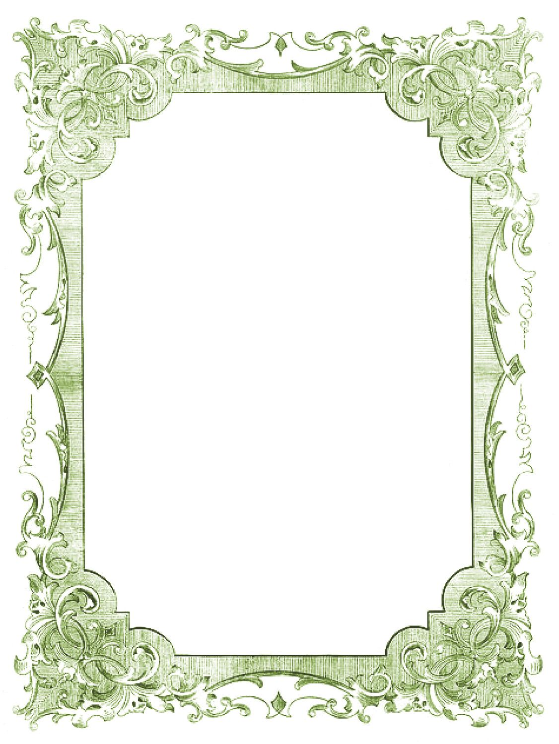 Clipart frames and borders color to-from graphic royalty free stock 24 Frame Clipart - Fancy and Ornate - Updated!   Free Printables ... graphic royalty free stock