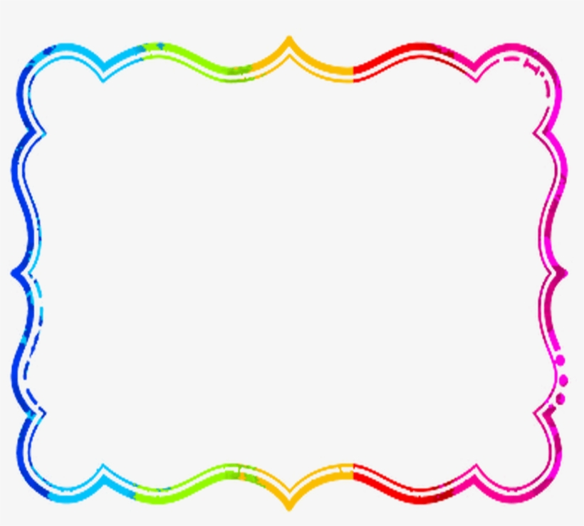 Clipart frames and borders free download banner Colorful Frames And Borders For Free On Mbtskoudsalg - Cute Frame ... banner