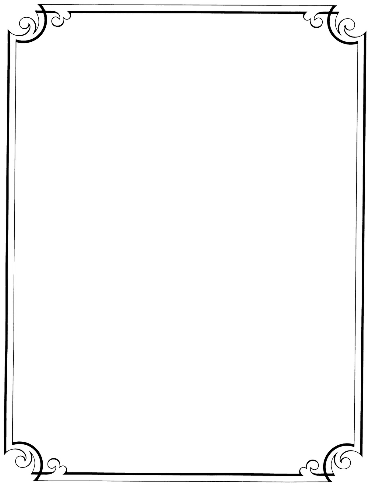 Clipart frames borders free jpg black and white 15+ Clipart Borders And Frames | ClipartLook jpg black and white