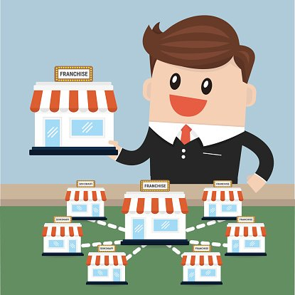 Clipart franchise clipart transparent Businessman Want TO Expand His Business, Franchise premium clipart ... clipart transparent