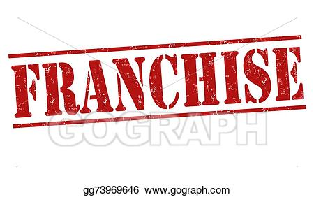 Clipart franchise clip black and white download Vector Clipart - Franchise stamp. Vector Illustration gg73969646 ... clip black and white download