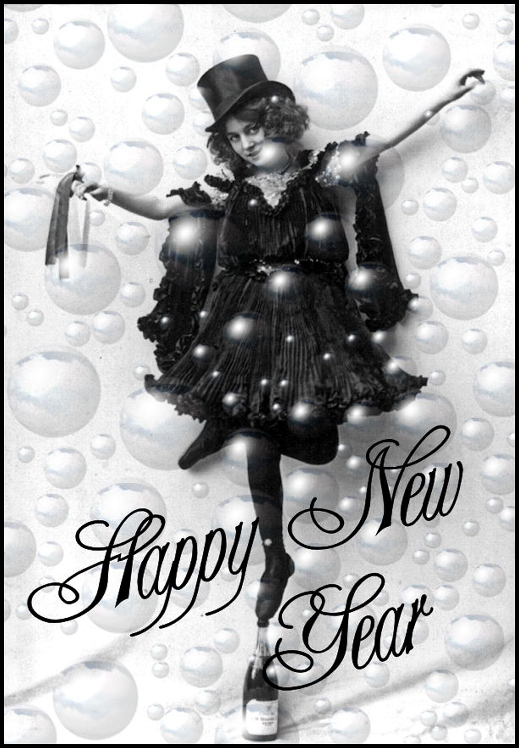 Clipart free 2016 new year black and white vector freeuse 10 Black and White New Year Clipart | Crafty things | New year ... vector freeuse