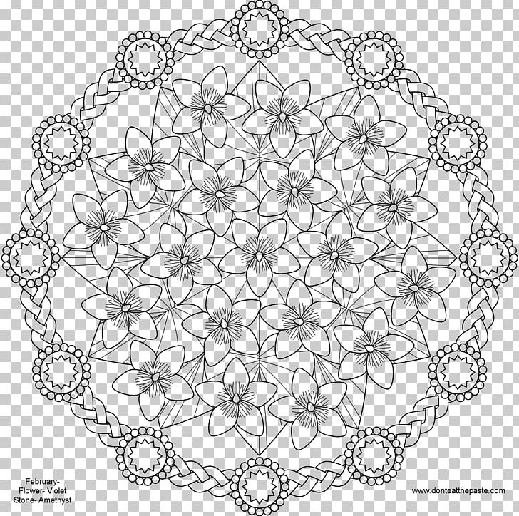 Clipart free adult coloring book flower mandala jpg freeuse stock Mandala Coloring Book Child Adult Flower PNG, Clipart, Adult, Area ... jpg freeuse stock