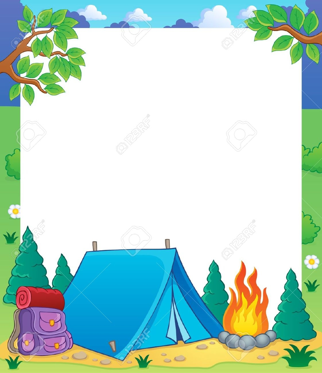 Free camping images clipart picture black and white stock 51+ Free Camping Clip Art | ClipartLook picture black and white stock