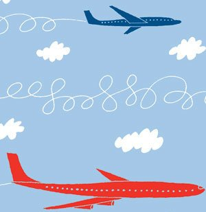 Clipart free cartoon using flahlights to park airplane at gate picture library stock 20 Tips From Air-Travel Insiders picture library stock