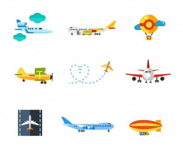 Clipart free cartoon using flahlights to park airplane at gate clipart black and white Airplane Vectors, Photos and PSD files | Free Download clipart black and white
