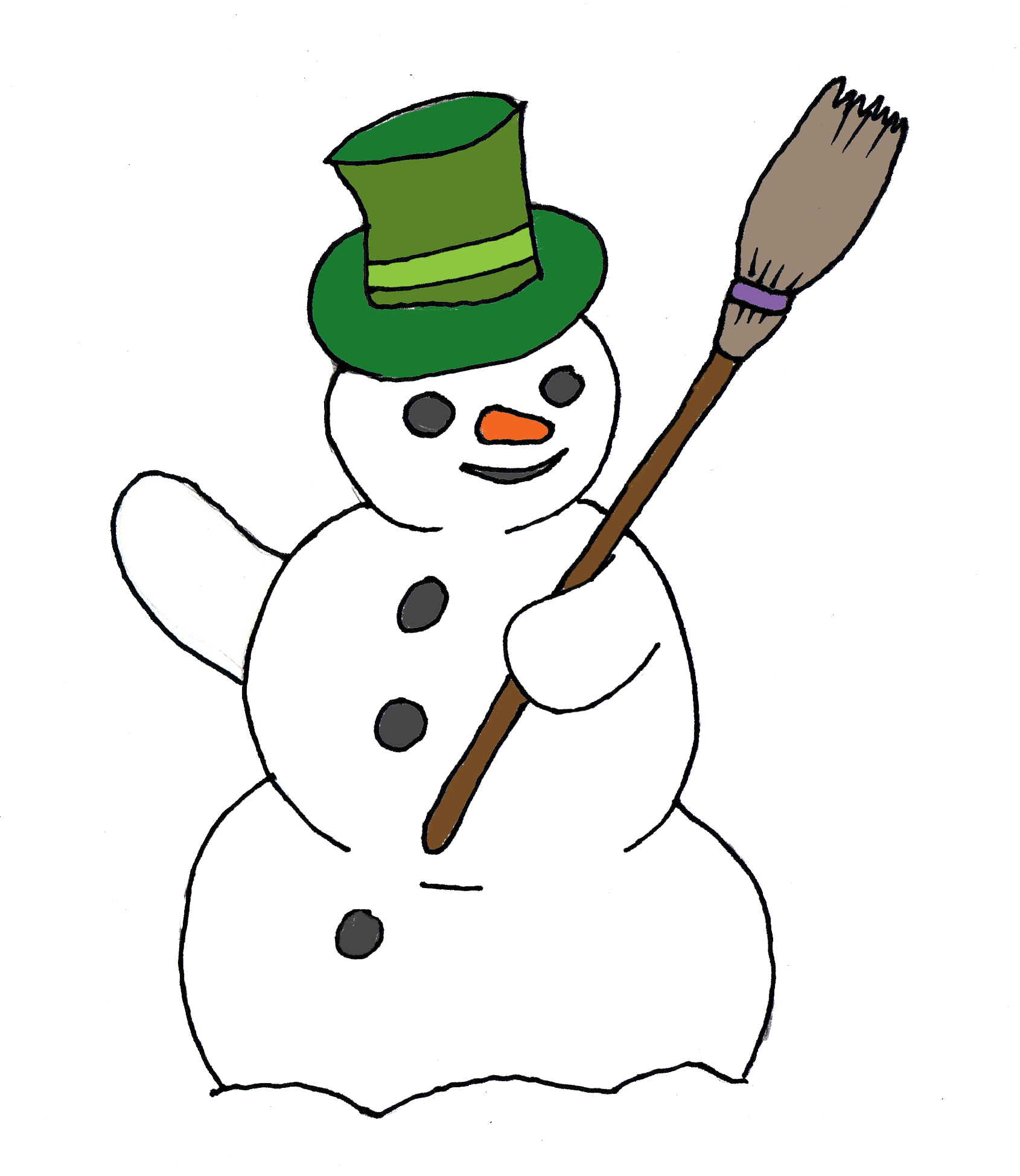Snowflake with snowman face clipart svg black and white stock 28+ Collection of Public Domain Clipart For Commercial Use | High ... svg black and white stock