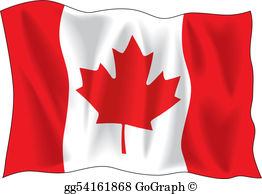 Clipart free images canadian flag image royalty free Canadian Flag Clip Art - Royalty Free - GoGraph image royalty free