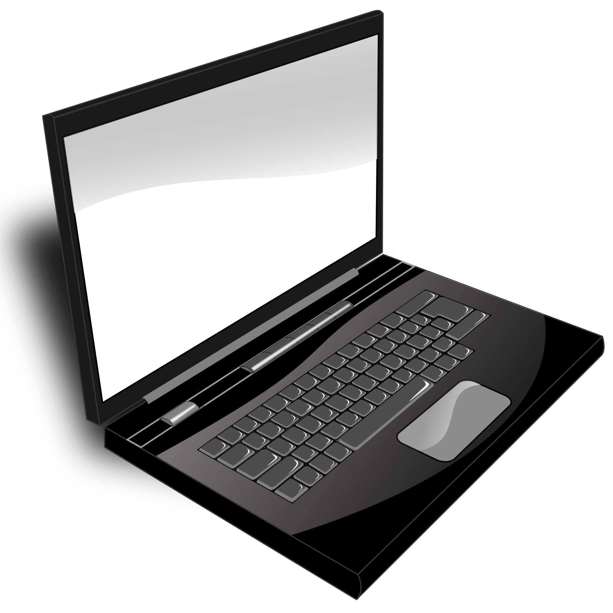 Laptop cute clipart black and white simple picture transparent stock Free Mac Cliparts, Download Free Clip Art, Free Clip Art on Clipart ... picture transparent stock