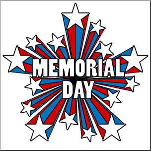 Clipart free memorial day image freeuse stock Memorial Day Honor and Remember ClipArt - Memorial Day Illustrations ... image freeuse stock