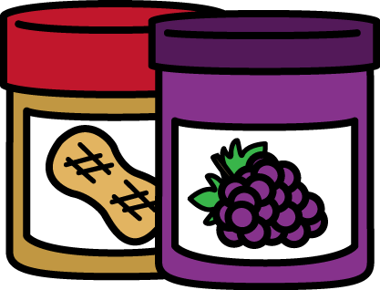 Clipart free peanut butter and jelly smear clip art FREE peanut butter and jelly clip art by MyCuteGraphics | Play Food ... clip art