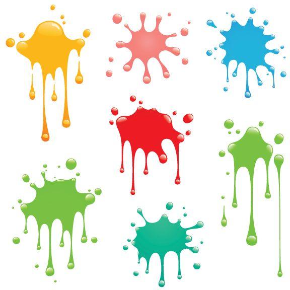 Clipart free preschool paint splatter puzzle clip library download Collection of Paint splash clipart | Free download best Paint splash ... clip library download