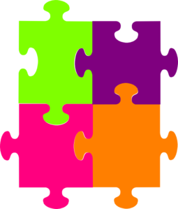 Clipart free preschool paint splatter puzzle graphic library Jigsaw Puzzle 4 Pieces clip art | PICTURES | Clip art, Jigsaw ... graphic library