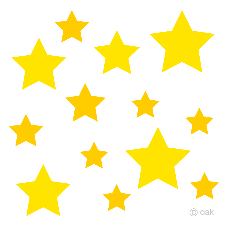 Images of clipart stars clipart download Many Stars Clipart Free Picture|Illustoon clipart download
