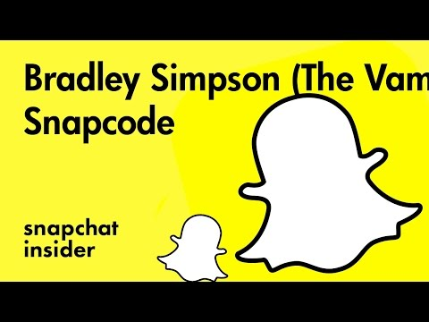 Clipart free the vamps brad clipart freeuse Bradley Simpson (The Vamps) - Add with Snapchat Snapcode - bradibeg -  snapchat insider clipart freeuse
