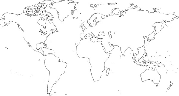 Clipart free world map vector freeuse stock World map clip art free vector download (220,352 Free vector) for ... vector freeuse stock