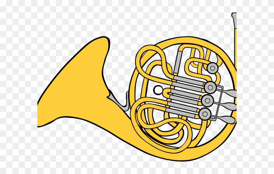 Clipart french horn svg black and white stock Colorful Clipart French Horn - Horn Clipart - Png Download (#1075506 ... svg black and white stock