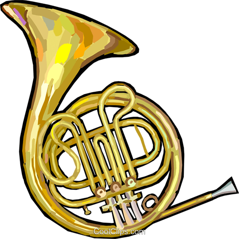 Free french horn clipart banner free stock French horn Royalty Free Vector Clip Art illustration -vc024882 ... banner free stock