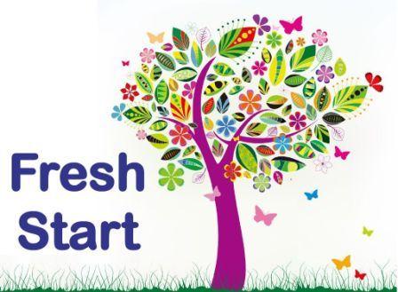 Clipart fresh start banner royalty free download Fresh Start banner royalty free download