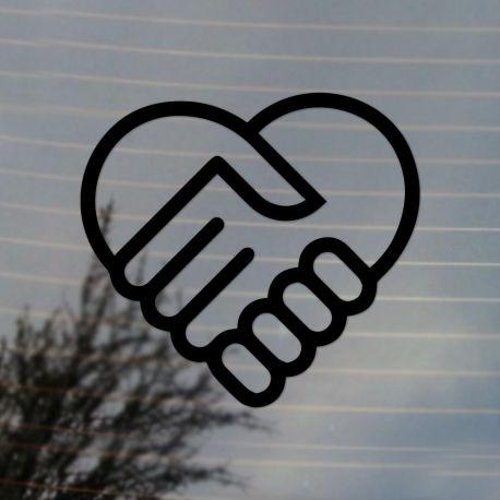 Clipart friendship symbols clip art transparent Friendship and Love Symbol Vinyl Decal clip art transparent
