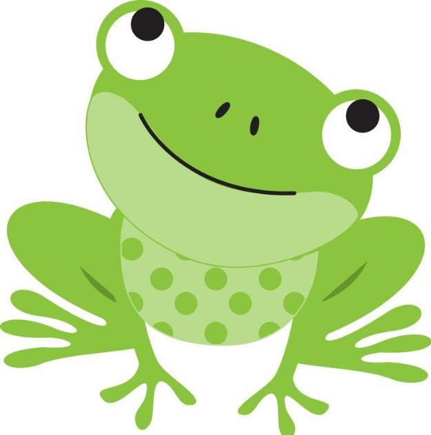 Frog clipart easy image download Cute frog clipart | Tattoos | Frog illustration, Frog crafts, Cute frogs image download