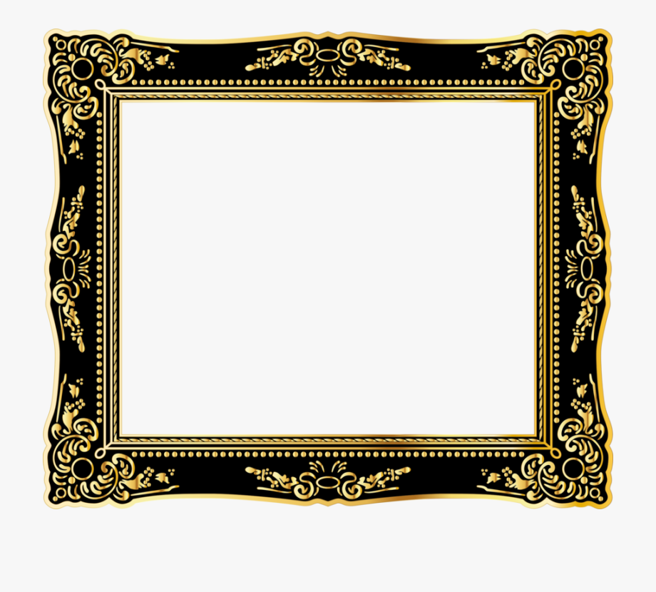 Clipart frmes picture royalty free library Free For Commercial Use Clipart Frames - Square Vintage Frame Png ... picture royalty free library