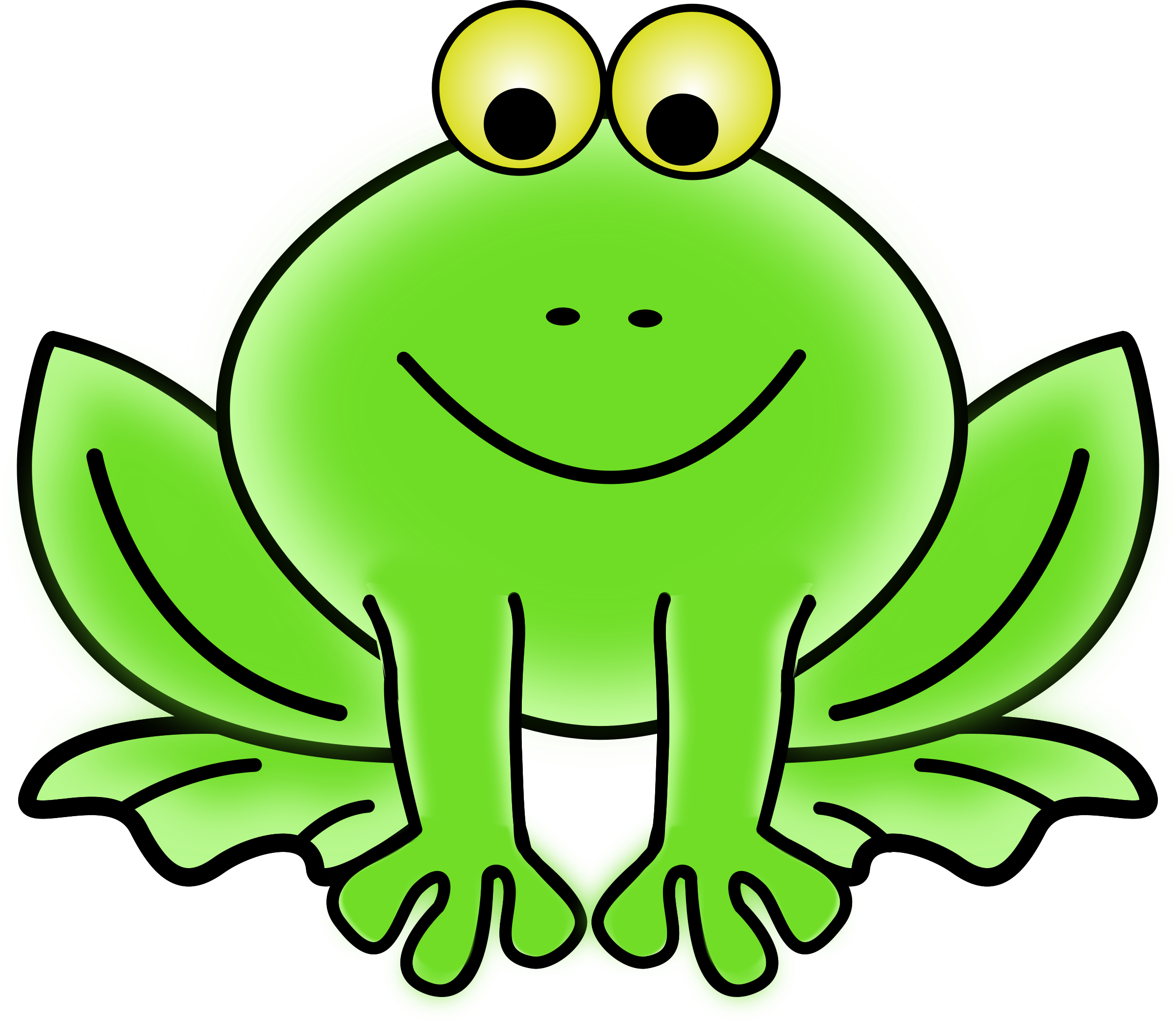 Clipart frog pictures banner transparent library Clipart frog - Clipartable.com banner transparent library