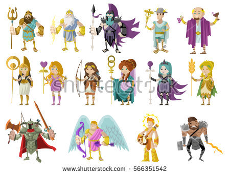 Clipart from juno. Stock vectors images vector