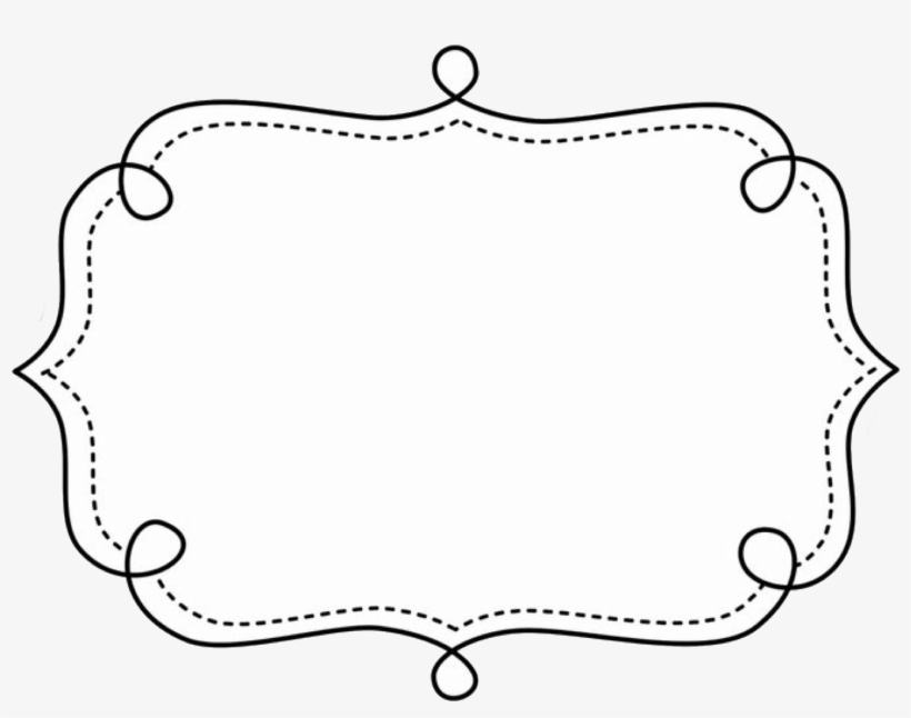 Frame borders clipart. Text page and doodle
