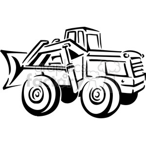 Clipart front end loader free black and white front end loader clipart. Royalty-free clipart # 385011 free