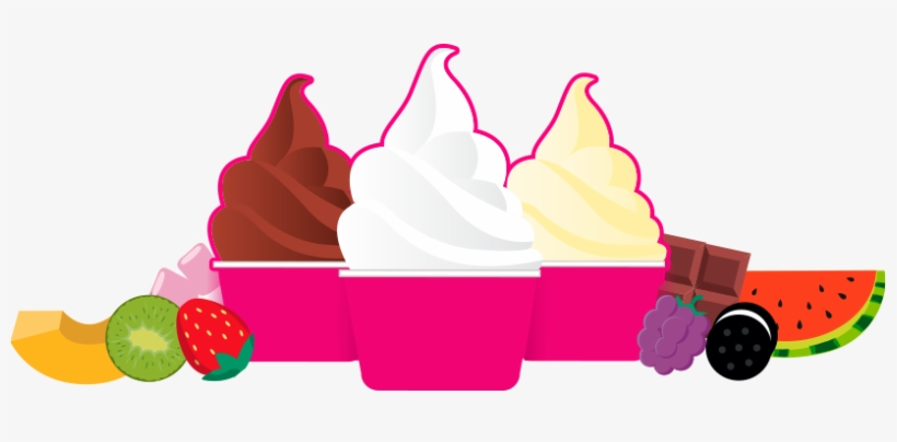 Clipart frozen yogurt freeuse library Png Transparent Frozen Yogurt Clipart - Frozen Yogurt Clipart PNG ... freeuse library