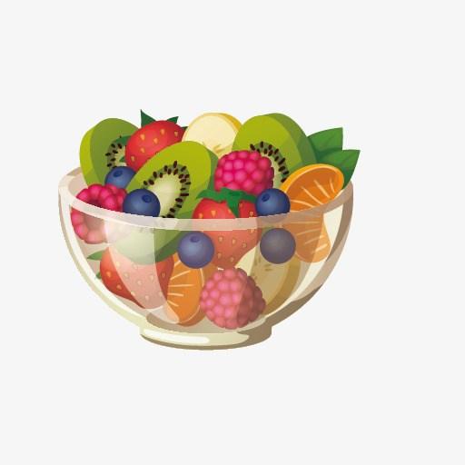 Clipart fruit salad
