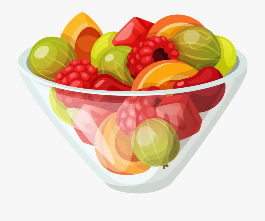 Clipart fruit salad freeuse Fruit Salad Clip Art , Png Download - Fruit Salad Clipart Png ... freeuse