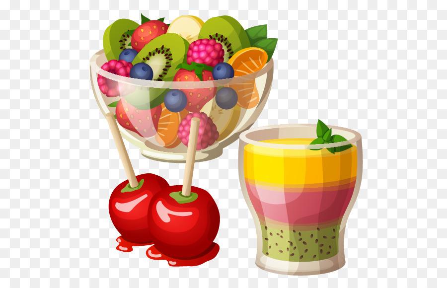 Clipart fruit salad png download Fruit Cartoon png download - 567*568 - Free Transparent Fruit Salad ... png download