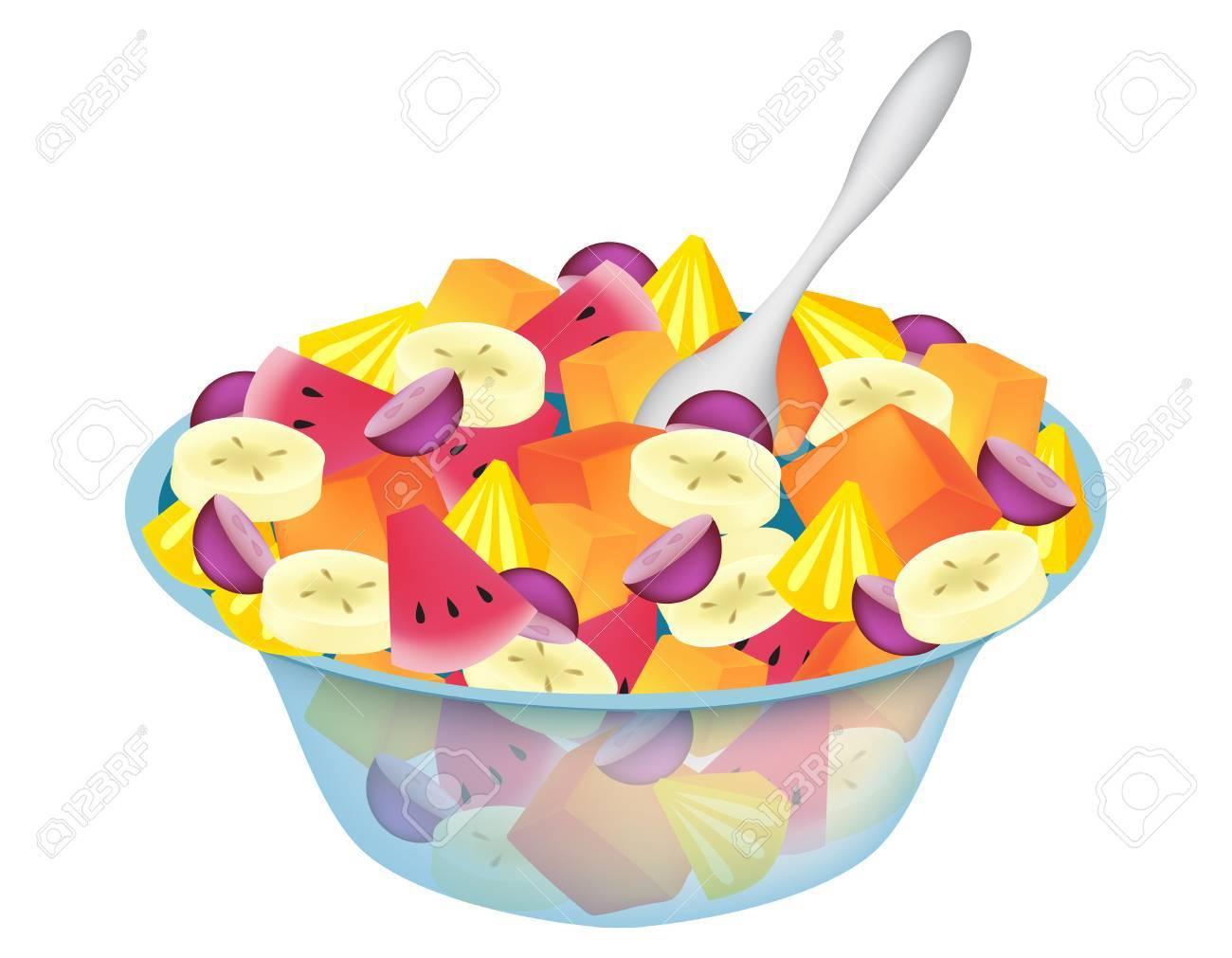 Clipart fruit salad png freeuse Fruit Salad Clipart - Making-The-Web.com png freeuse