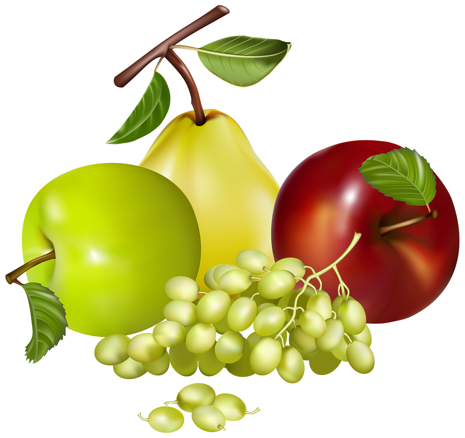 Tree with fruit clipart png free Mixed Fruits PNG Clipart - Best WEB Clipart png free