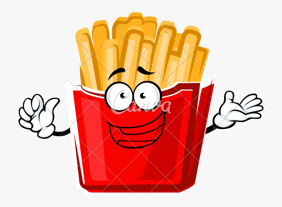 Clipart fry clip free library Cartoon French Fries Png - Fries Clip Art #92367 - Free Cliparts on ... clip free library