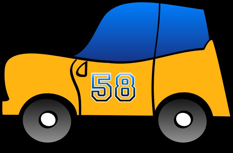 Clipart funny car clip art free stock Clipart - 2D yellow fun car clip art free stock