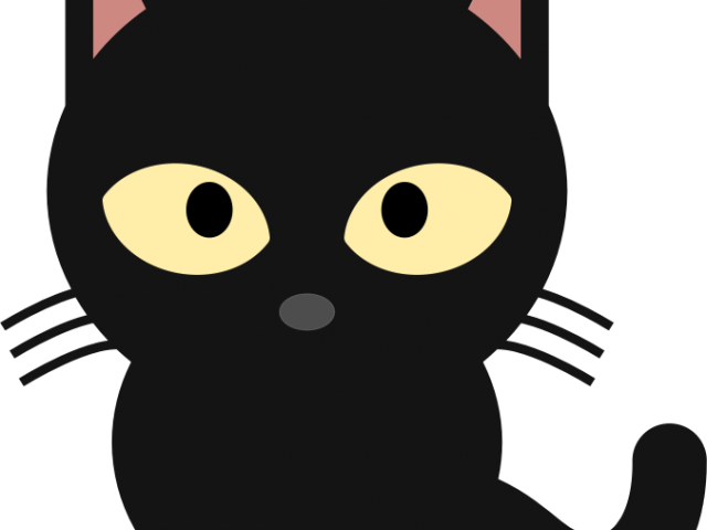 Clipart funny cat svg black and white download Funny Cat Clipart 3 - 450 X 394 | carwad.net svg black and white download