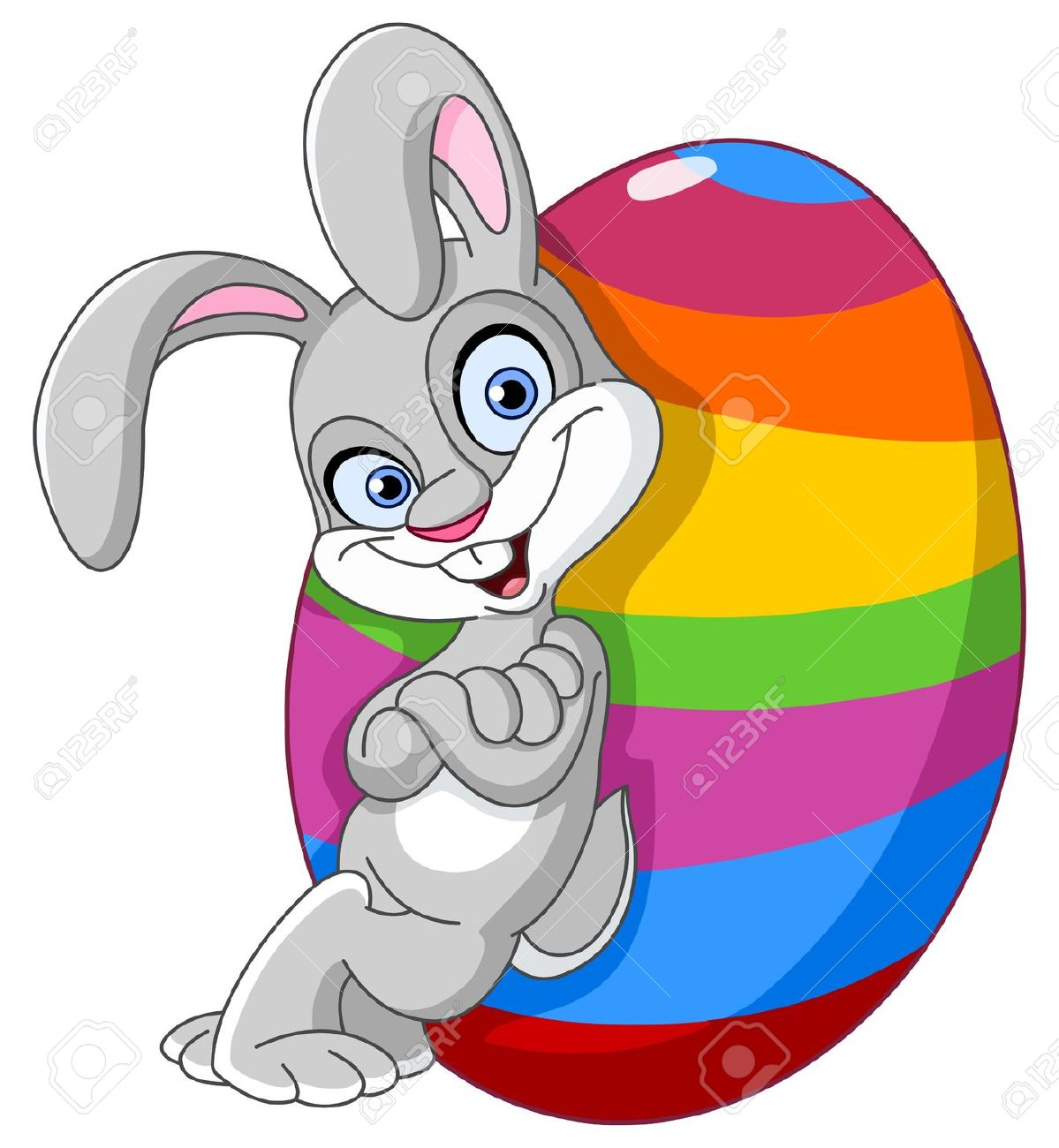 Clipart funny easter egg png stock 43,383 Easter Bunny Stock Vector Illustration And Royalty Free ... png stock