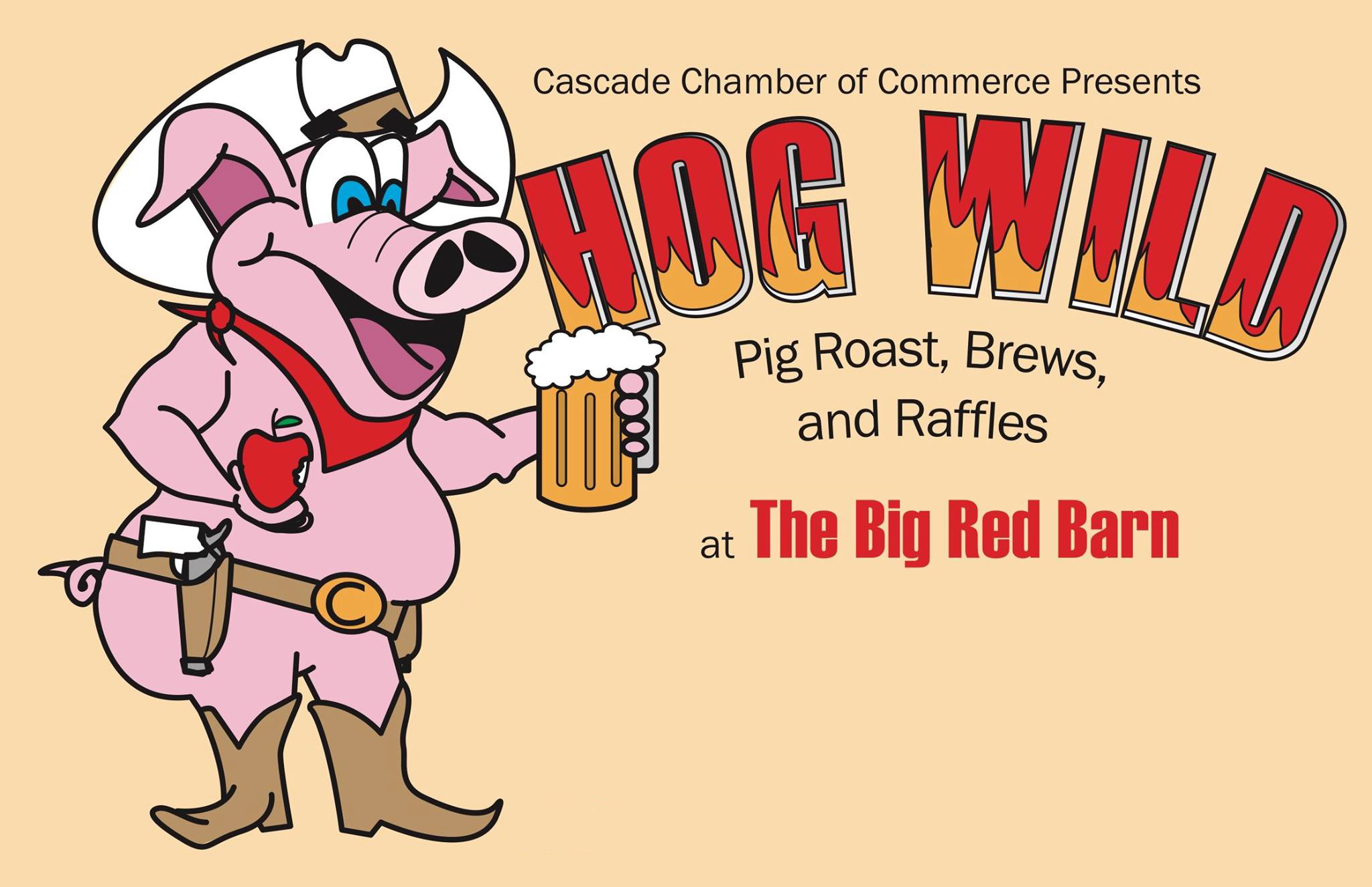 Clipart funny two hogs going hog wild jpg download Hog Wild - Cascade Chamber of Commerce jpg download