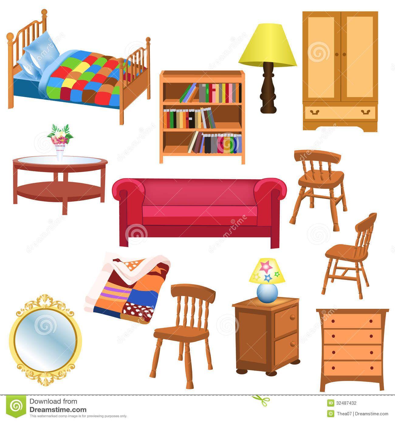 Clipart furniture pictures clip art royalty free library Living Room Furniture Clipart | Places to Visit | Furniture, Living ... clip art royalty free library