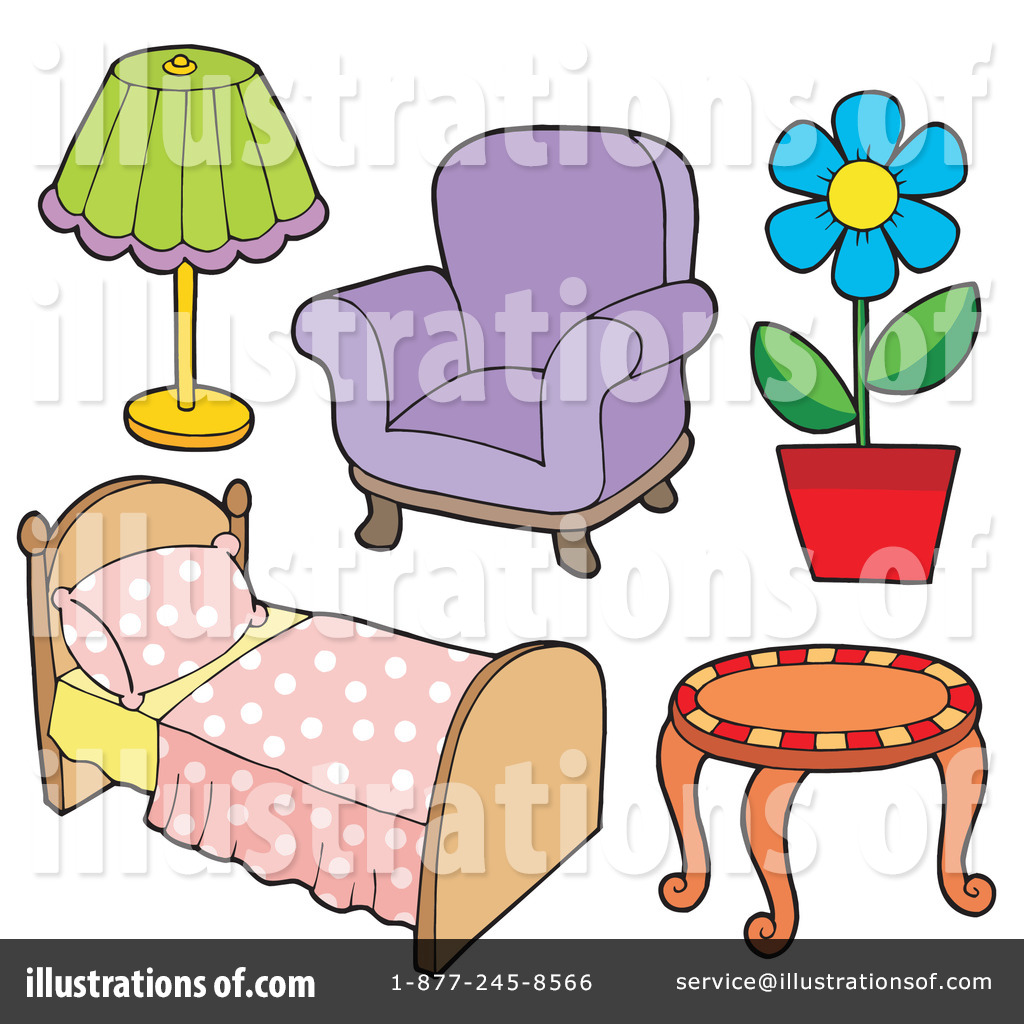 Clipart furniture pictures clipart download Furniture Clipart #213543 - Illustration by visekart clipart download
