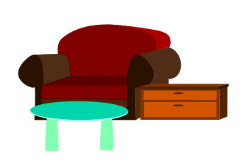 Clipart furniture pictures png royalty free 86+ Furniture Clip Art | ClipartLook png royalty free